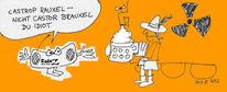 Karikatur, Radio z, Malerei
