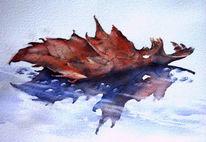 Blätter, Verwelken, Herbst, Herbstlaub