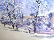 Schnee, Coburg, Oberfranken, Bayer