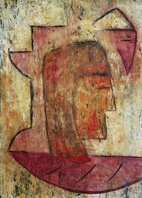 Rahmen, Malerei, Acrylmalerei, Figural