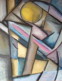 Farben, Berühmtegemälde, Surreal, Großekunstausstellung