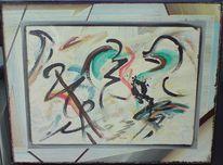 Abstrakt, Fantastische malerei, Künstlerlexikon, Dispersion