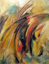 Malerei, Waldweg