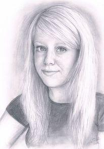 Zeichnungen, Portrait, Selbstportrait