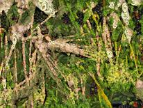 Grünzeug, Garten, Natur, Digitale kunst
