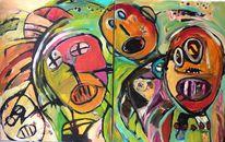 Experimentelle malerei, Malerei