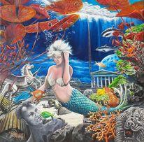 Zerbrechen, Goldfisch, Atlantis, Versinken