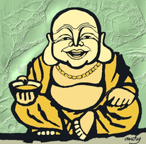 Digitale kunst, Buddha, Digital, Unkat