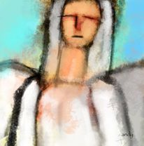 Abstrakt, Abstrakte kunst, Engel, Atmosphäre