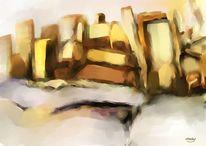 Landschaft, Digitale kunst, Modern, Atmosphäre