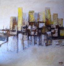 Zeitgenössische kunst, Modern, Farben, Acrylmalerei