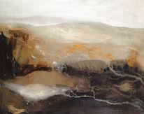 Abstrakt, Sand, Farben, Malerei