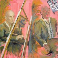 Malerei, Bruce willis, Malen, Wahnsinn