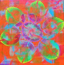 Farben, Acrylmalerei, Malerei, Bunt