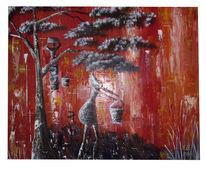 Abstrakt, Afrika, Malerei,