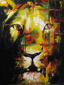 Löwe, Wild, Abstrakt, Tiere