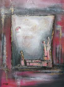 Abstrakt, Malerei, Abstrakte gemälde, Abstrakte bilder