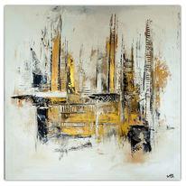 Abstrakte malerei, Acrylmalerei, Dekoration, Malerei