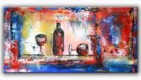 Moderne kunst, Abstrakte malerei, Gemälde, Modern