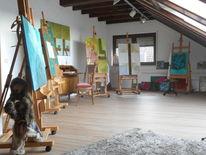 Atelier, November, Sonne, Pinnwand