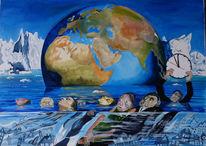Meeresspiegel, Menschen, Klimaschutz, Erderwärmung