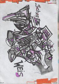 Vvvv, Malerei