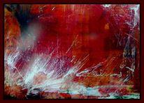 Malerei, Ölmalerei, Sand, Acrylmalerei