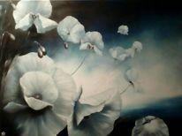 Blumen, Mohnblumen, Malerei, Mohn