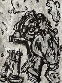 Mischtechnik, Malerei, Befindlichkeit, Ausdruck