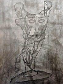Ausdruck, Menschen, Zeichnung, Zeichnungen