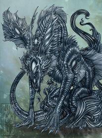 Lebewesen, Monster, Alien, Kreatur