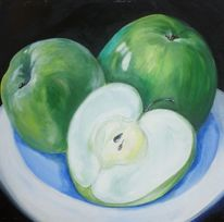 Stillleben, Obst, Früchte, Apfel