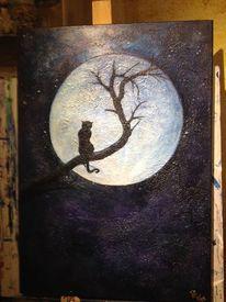 Katze, Fantasie, Impressionismus, Surreal