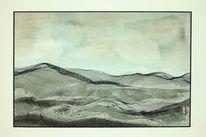 Schnee, Hügel, Horizont, Bergisches land