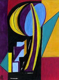 Schwingen, Wolkenkratzer, Figur, Kontrast