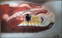 Schlange, Reptil, Malerei