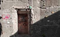 Mauer, Tür, Tempel, Klettern