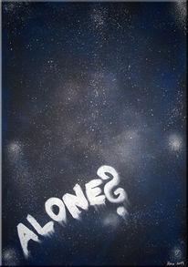 Himmel, Erde alien, Abstrakt, Universum