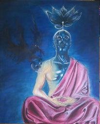 Geist, Kutte, Versenkung, Meditation
