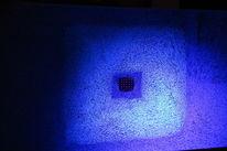 Quadrat, Strich, Neon, Malerei