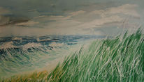Meer, Strand, Malerei