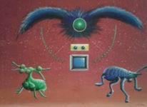 Malerei, Modern, Acrylmalerei, Gemälde