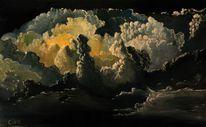 Wolken, Unwetter, Nacht, Gewitter