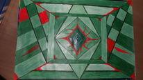 Fraktalkunst, Geometrie, Abstrakt, Malerei
