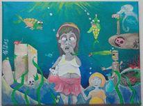 Fantasie, Fisch, Einsamkeit, Hase