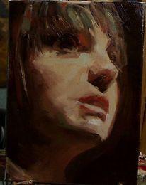 Prima, Malerei, Ölmalerei, Alla