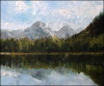 Österreich, Natur, Landschaft, Impressionismus