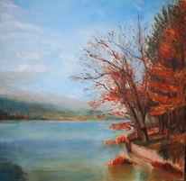Sonne, Malerei, Impressionismus, Herbst