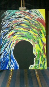 Expressionismus, Acrylmalerei, Brainstorming, Abstrakt