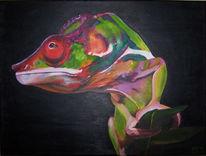 Acrylmalerei, Realismus, Malerei, Tiere